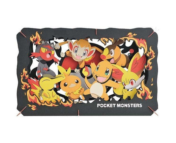 Pokemon Paper Theater XL: Fire