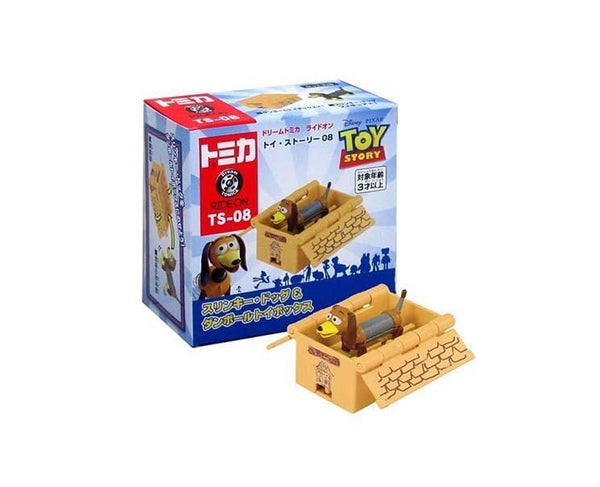 Toy Story Dream Tomica: Slinky Dog and Cardboard