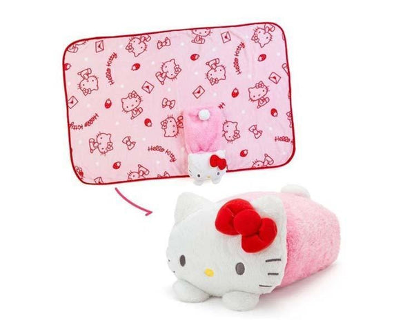 Hello Kitty Cushion Blanket