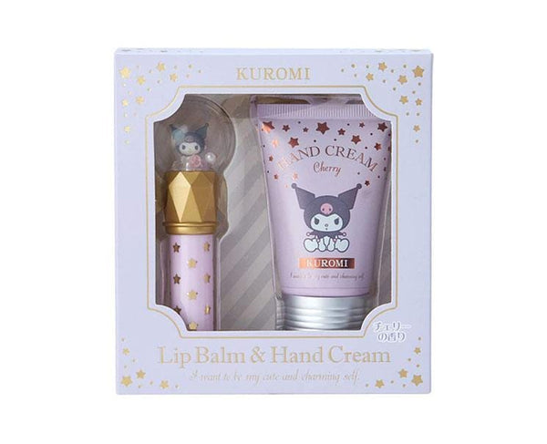 Kuromi Lip Balm & Hand Cream Set