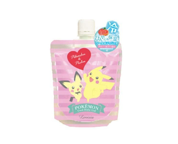 Pokemon Cool Body Gel: Pikachu and Pichu