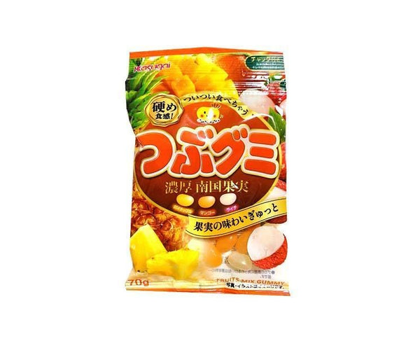 Tsubu Gummy: Tropical Fruits