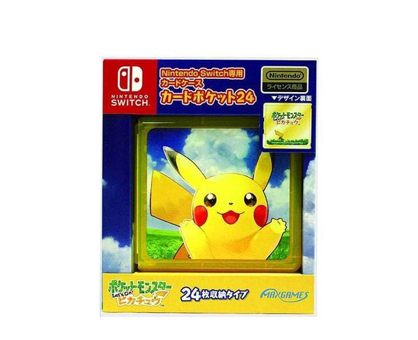 Nintendo Switch Pikachu Card Case (24 Cards)