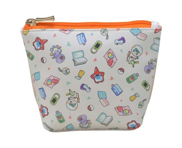 Pokemon Trainers Bag Contents Pouch Orange