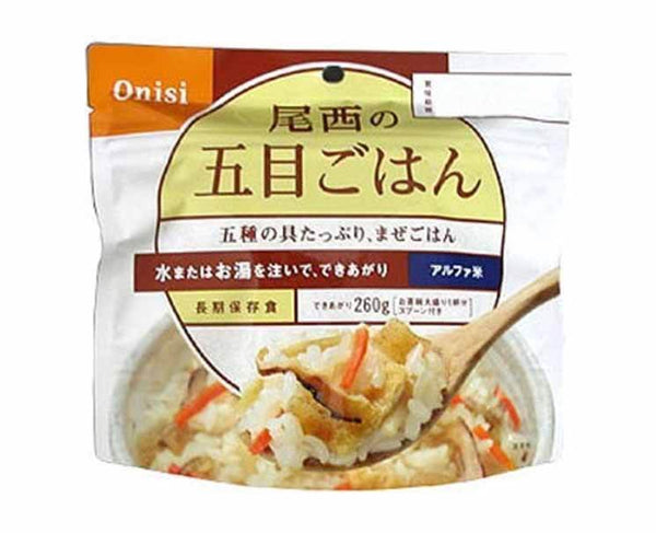 Onisi Instant Rice (Gomoku Mixed Rice)
