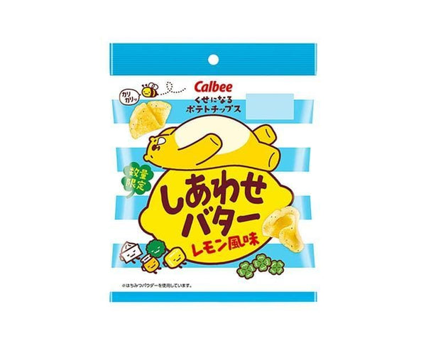 Calbee Potato Chips: Butter Lemon Flavor