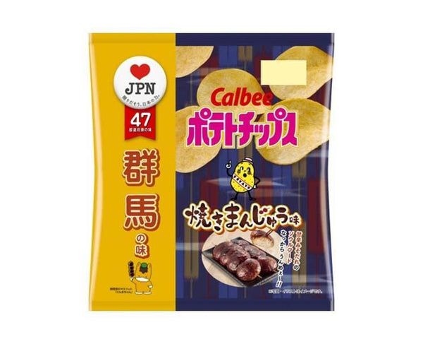 Calbee Potato Chips: Roasted Manju