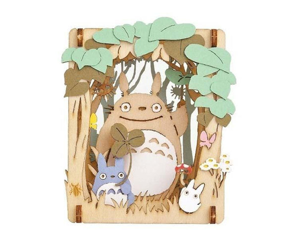 My Neighbor Totoro Wood Style Paper Theater (Trees)