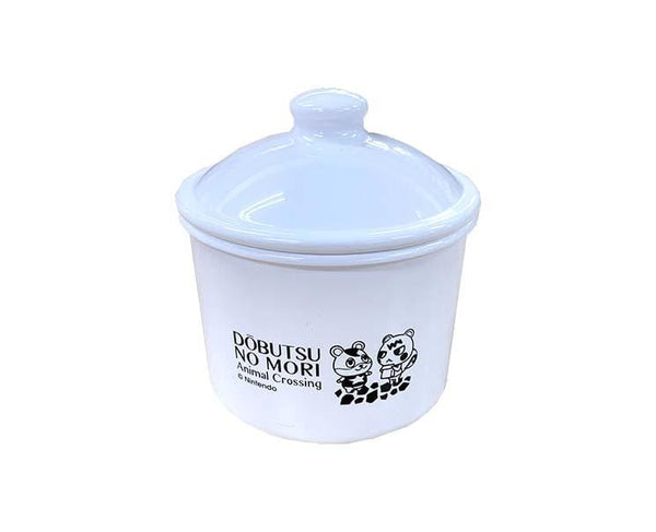 Animal Crossing White Canister (S)