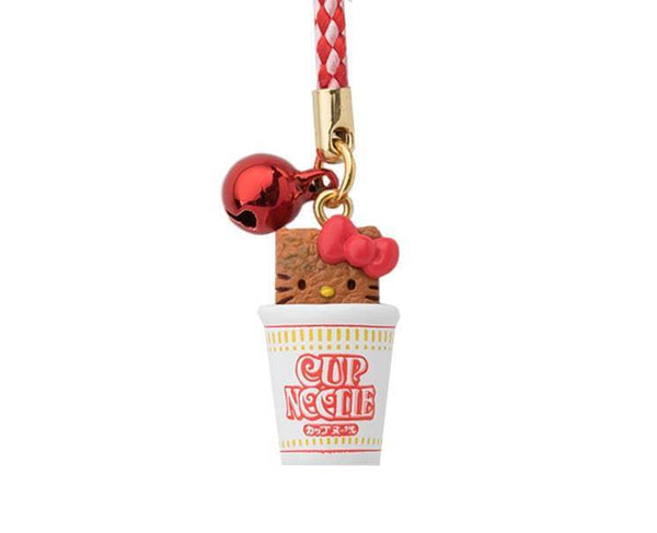 Nissin Cup Noodle Hello Kitty Strap