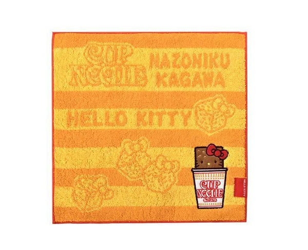 Nissin Cup Noodle Hello Kitty Handkerchief