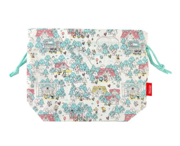 Animal Crossing Drawstring Pouch