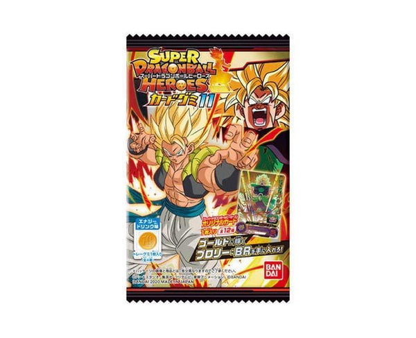Super Dragonball Heroes Card Gummy Vol. 11