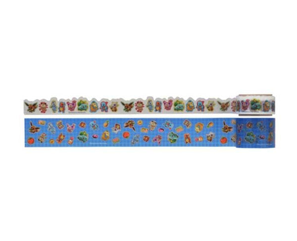 Pokemon Mystery Dungeon Blue Washi Tape