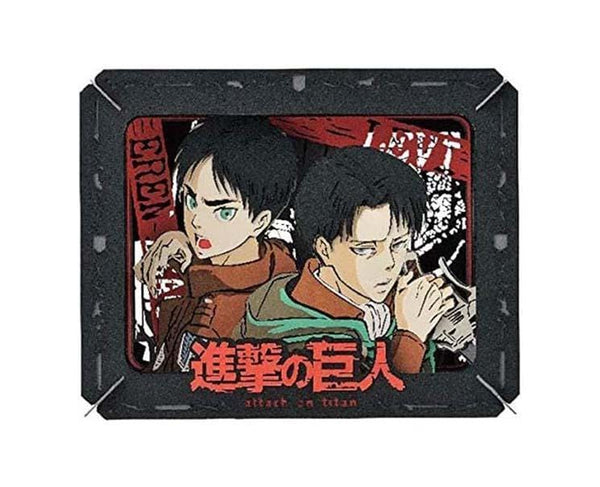Attack of Titans Paper Theater (Eren and Levi)