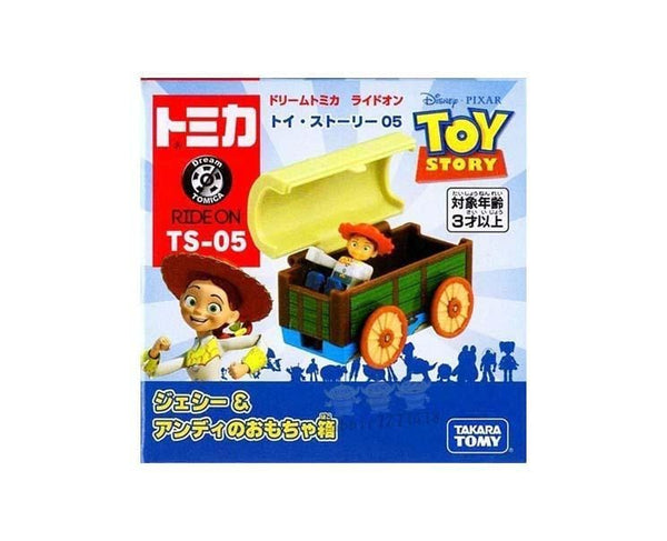 Toy Story Dream Tomica: Jessie and Andy's Toy Box