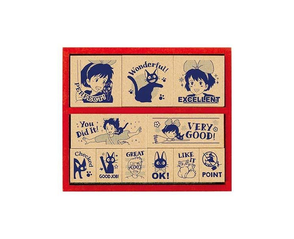 Kiki's Delivery Service Stamp Set
