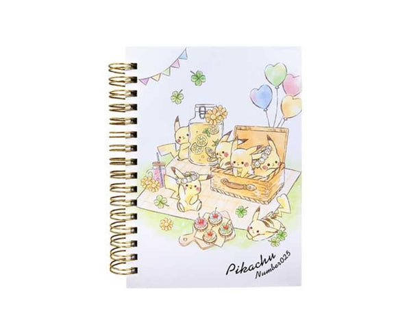 Pikachu Number 025 Picnic Spiral Notebook