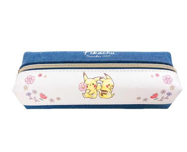 Pikachu Number 025 Flower Pencil Case