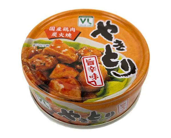 Canned Yakitori Chicken (Spicy)