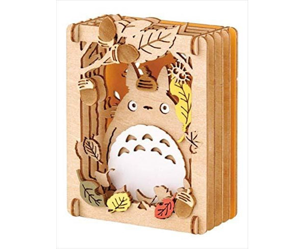 My Neighbor Totoro Wood Style Paper Theater (Leaves)