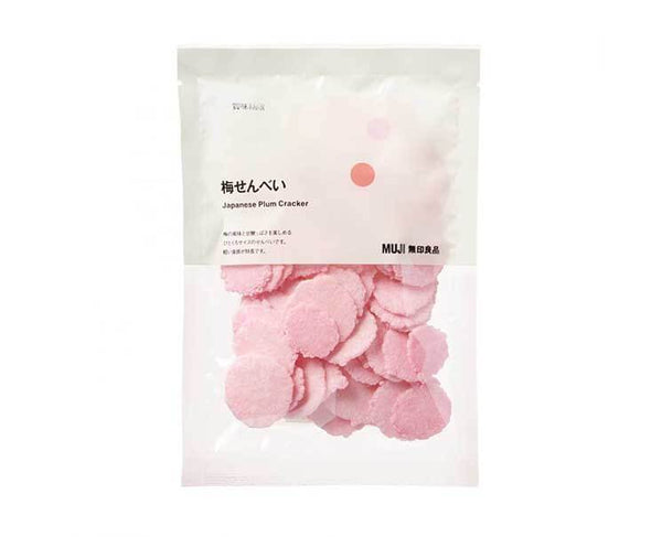 Muji Japanese Plum Crackers