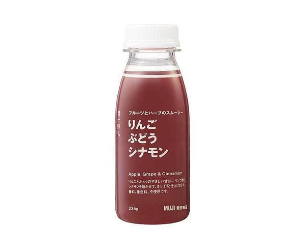 Muji Apple, Grape & Cinnamon Smoothie