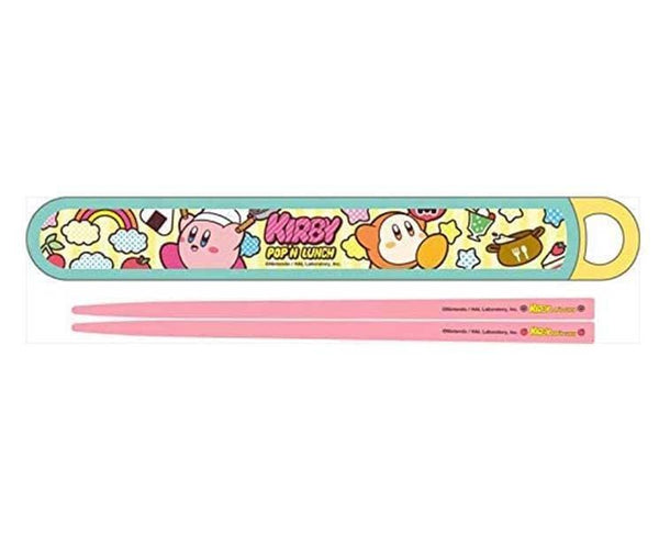 Kirby Pop'N Chopstick and Case Set