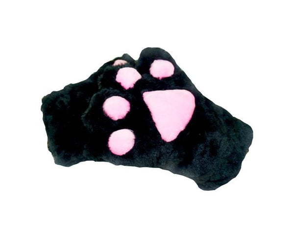 Giant Black Cat Hand Gloves
