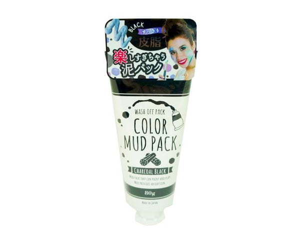 Color Mud Pack Charcoal Black