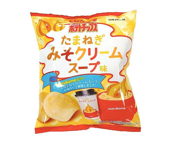 Miso Cream Soup Potato Chips