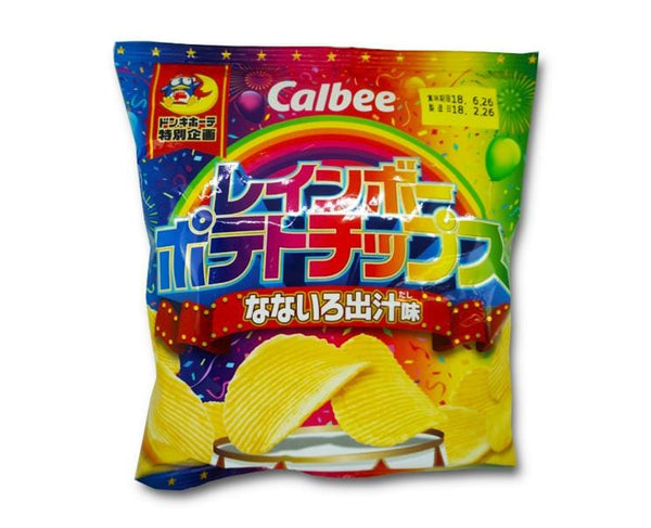 Rainbow Potato Chips