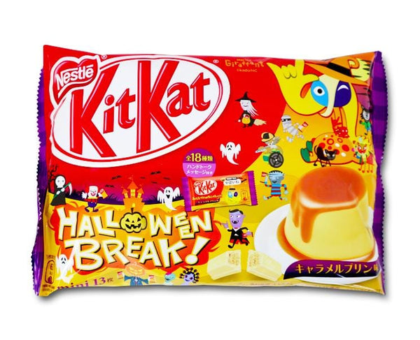 Kit Kat Halloween Caramel Pudding Flavor
