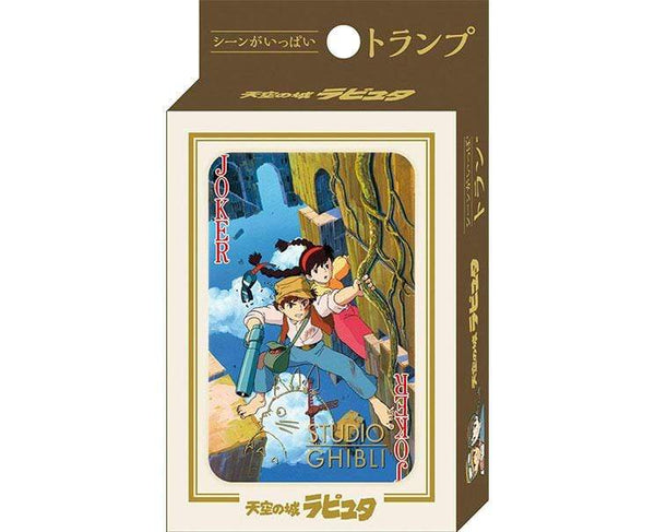 Castle In The Sky Scenes Playing Cards