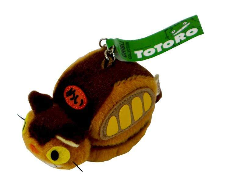 Cat Bus Keychain Plush