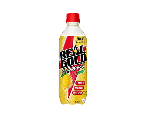 Coca Cola Real Gold Ultra Charge Lemon 490Ml