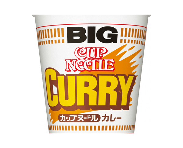 Nissin Cup Noodle Curry Big 120G