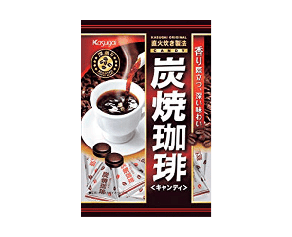 Kasugai Confectionery Charcoal Coffee 100G