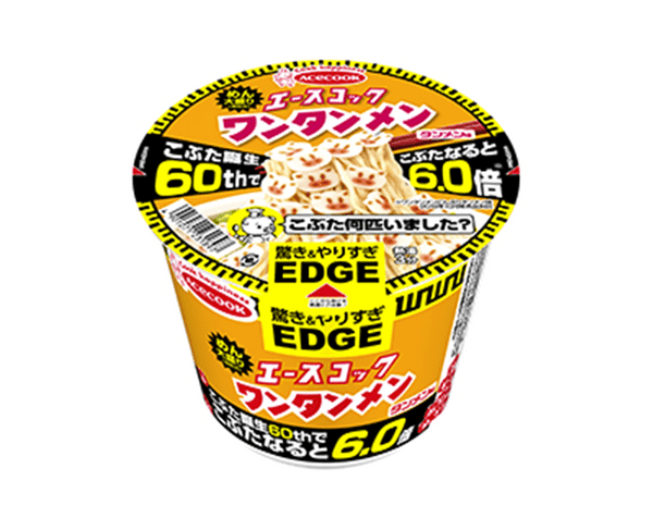 Acecook Edge Wontonmen Tanmen Taste Kobu At Birth 60Th And 6 0 Times 94G
