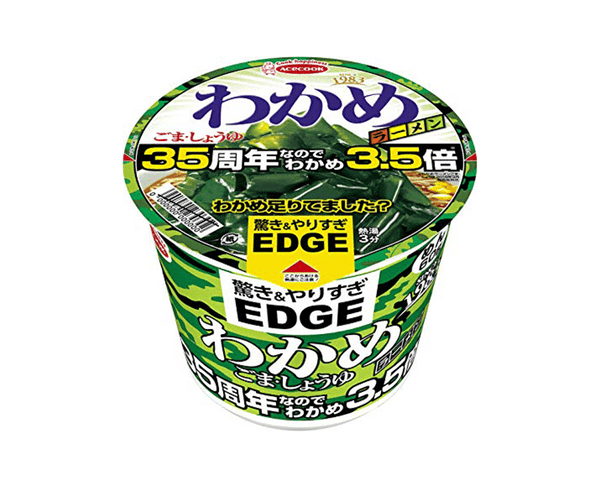 Acecook Edge Wakame Ramen Sesame And Soy Sauce Wakame 95G