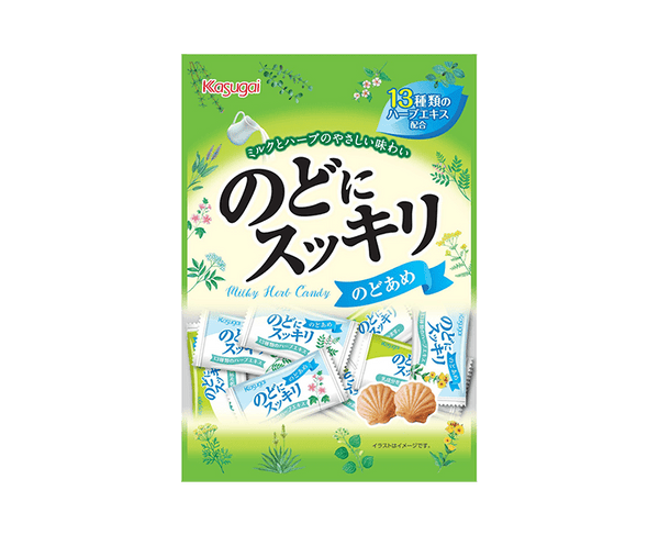 Kasugai Confectionery Throat Refreshing 125G