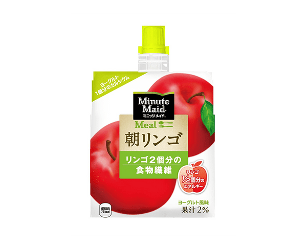 Jelly Drink Coca Cola Company Minute Maid Morning Apple Pouch 180G