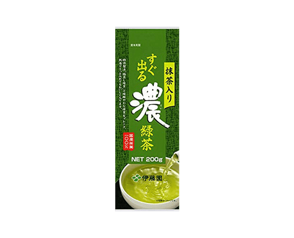 Ito En Green Tea With Green Tea Leaves 200G