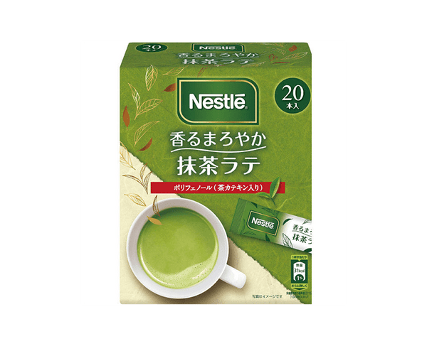 Nestle Scented Round Green Tea Latte 5 6