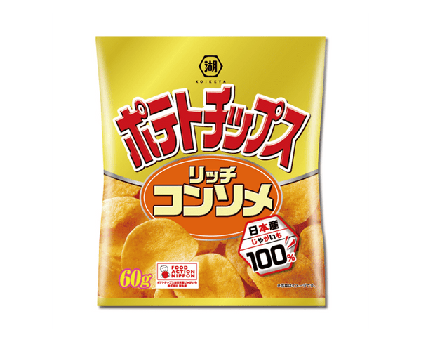 Lake Pond Shop Potato Chips Rich Consomm 60G