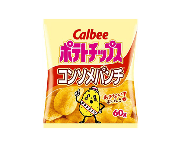 Calbee Potato Chips Consomm Punch 60G