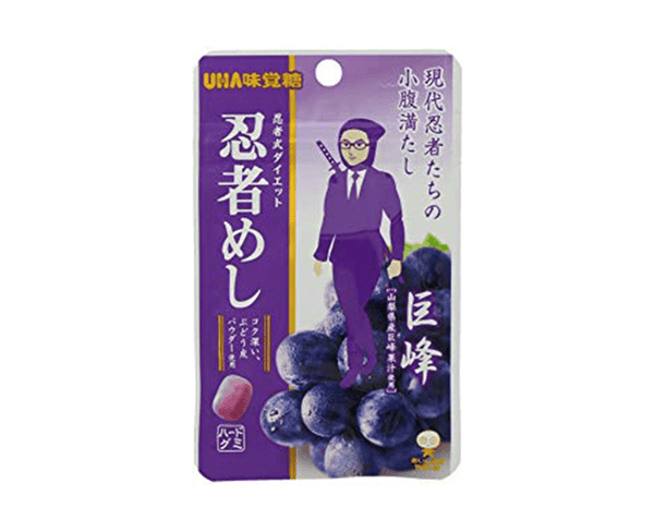Taste Sugar Umami Shige Kicks Ninja Mesh Grape Taste 20G