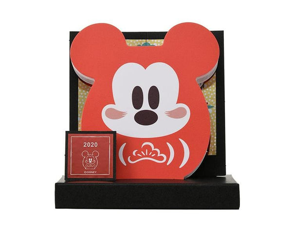 Disney Daruma 2020 Mickey Decorative Memo Pad