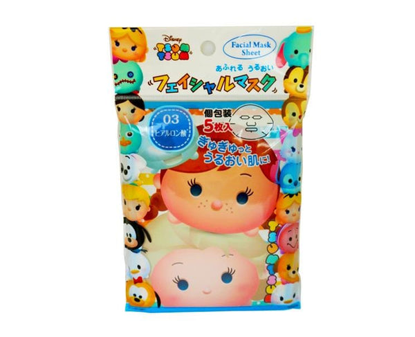 Tsum Tsum Frozen Facial Masks Five Piece Set