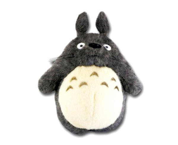 Totoro Large Plush Dark Grey